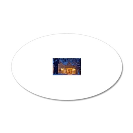 1-2297 57 20x12 Oval Wall Decal