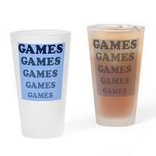 Games Magnet Drinking Glass