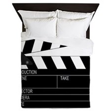 Director' Clap Board Queen Duvet