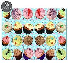 CupcakesPolkaDotMouseMat Puzzle