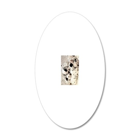 Dalmation journal 20x12 Oval Wall Decal