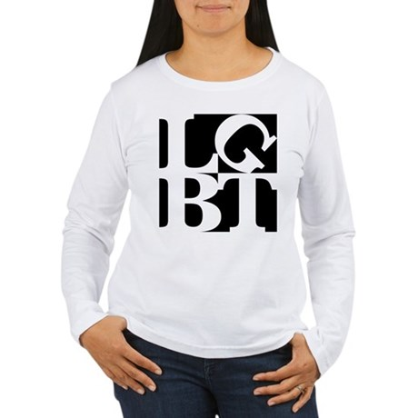 LGBT Black Pop Women's Long Sleeve T-Shirt