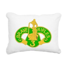 3 ARMORED CAVALRY REGIME Rectangular Canvas Pillow