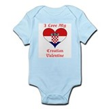 My Croatian Valentine Infant Bodysuit
