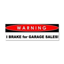 Cute Car warning Car Magnet 10 x 3
