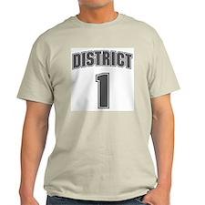 District 1 Design 6 Light T-Shirt