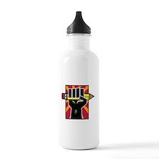 write power-darkshirt Water Bottle