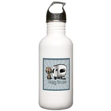Happy Camper Dog Water Bottle