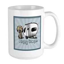Happy Camper Dog Mugs
