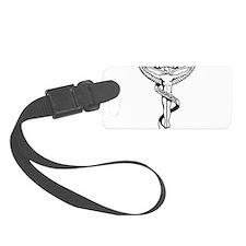Chiropractic Symbol Luggage Tag