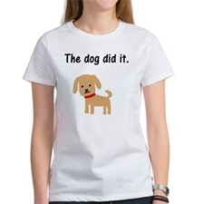 The Dog Did It Tee