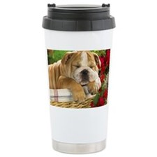Eng BD greeting Ceramic Travel Mug