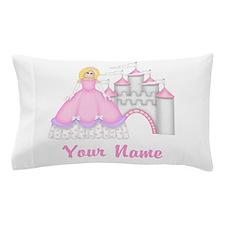 Princess Castle Personalized Pillow Case