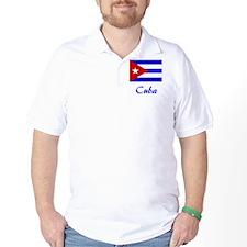2-Cuba Flag T-Shirt