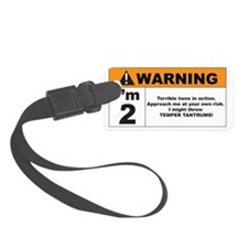 warning Luggage Tag