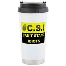 C.S.I Ceramic Travel Mug