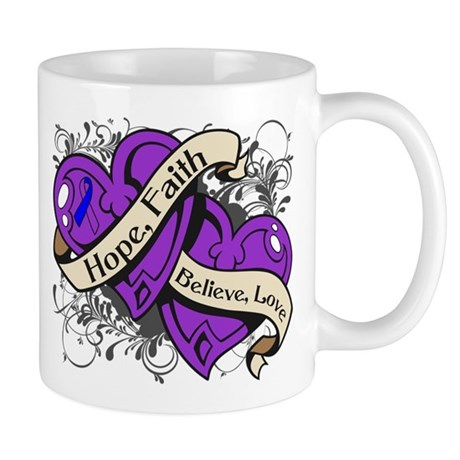 Pediatric Stroke Hope Hearts Mug
