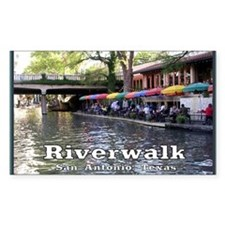Riverwalk, San Antonio,TEXAS Decal