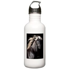 choco_horse_card Water Bottle
