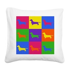 Warhol Pookie Square Canvas Pillow