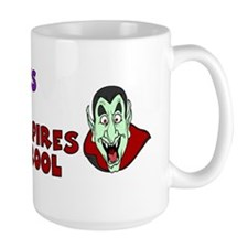 Zombies Rule Bumper Mug