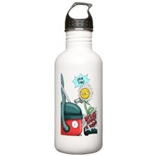 nature abhors a vacuum Water Bottle