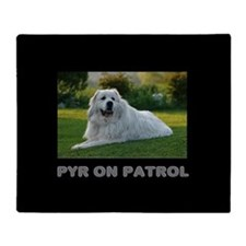 Great Pyr Throw Blanket