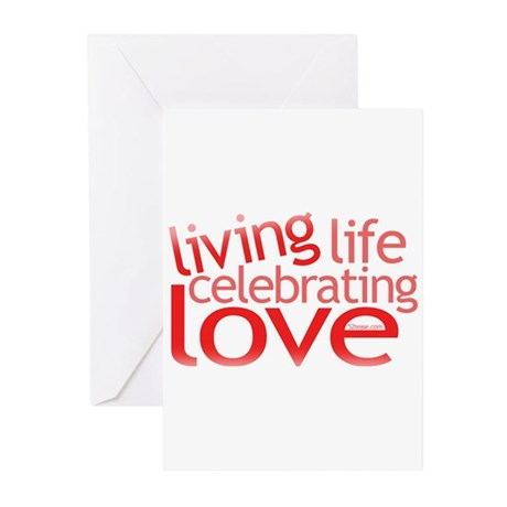 Celebrating Love Greeting Cards (Pk of 10)