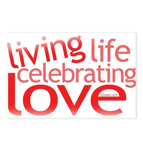 Celebrate Love Postcards (Package of 8)