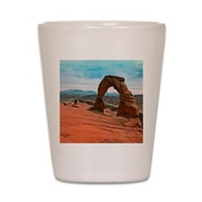 Delicate Arch in Moab, Utah Shot Glass