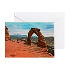 Delicate Arch in Moab, Utah Greeting Card