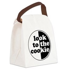 big_cookie_no_white Canvas Lunch Bag