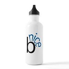 Be Nice (Blue) Water Bottle