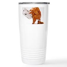 turky-poop Ceramic Travel Mug