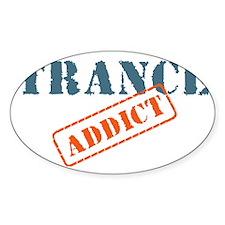 TRANCE ADDICT Decal