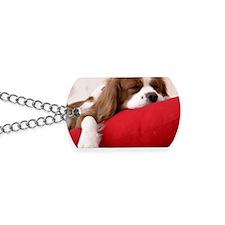 Spaniel pillow Dog Tags