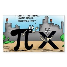 Pi_59 Twitter (17.5x11.5 Color Decal