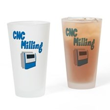 CNC Milling merchandise Drinking Glass
