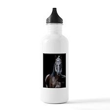 blk_walker_Lg_framed Water Bottle