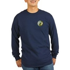 2 Yin Yang Fish Long Sleeve T-Shirt
