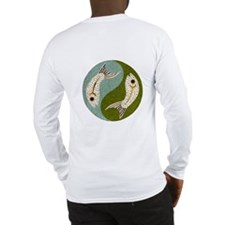 2Fish-Yin-Yang-Reverse Long Sleeve T-Shirt