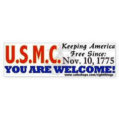 US Marine Corps Bumper Sticker