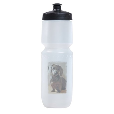 Dachshund Puppy Sports Bottle