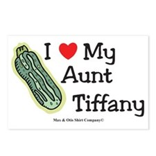 i-heart-aunt-tiffany Postcards (Package of 8)