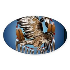 DreamcatcherFlyingHawk Decal
