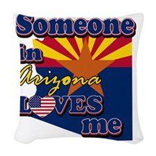 arizona Woven Throw Pillow
