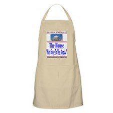 The House Has Gone To The Dogs Apron