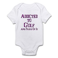 Funny Humorous golf Infant Bodysuit