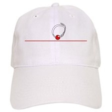 Ball Gag University-white Baseball Cap
