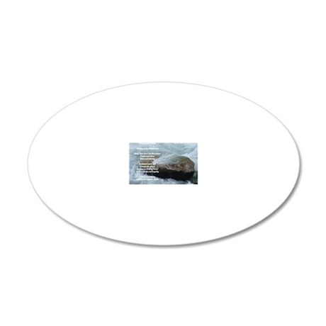 bruce and Brenda 20x12 Oval Wall Decal